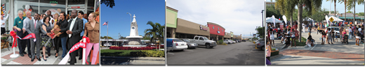 Economic Development groups of people in North Miami