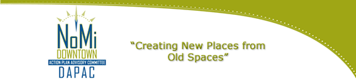 Creating New Places from Old Spaces DAPAC