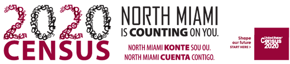 Census 2020, North Miami is Counting on You!