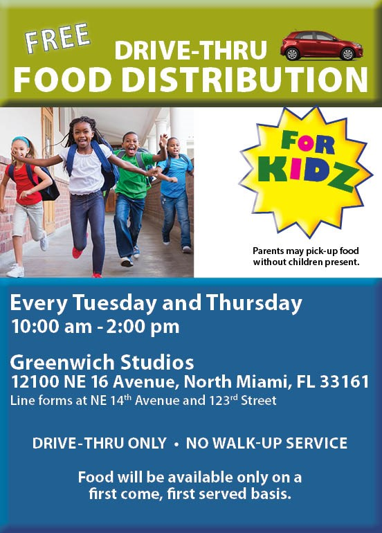 Drive-Thru Food Distribution