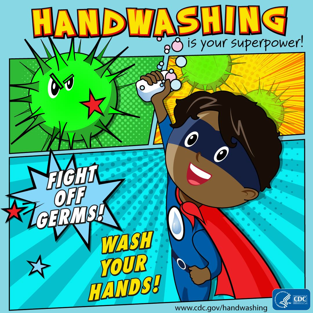Handwashing is your superpower