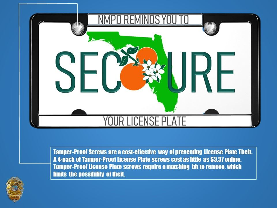 Secure Your License Plate