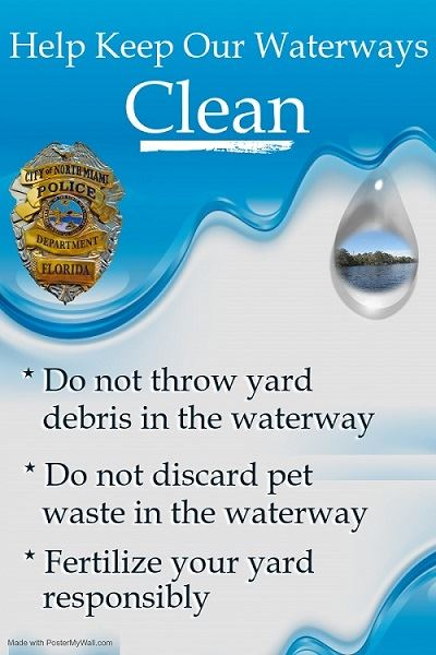 Help Keep Our Waterways Clean