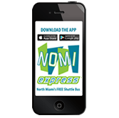 NoMi Express App on iPhone