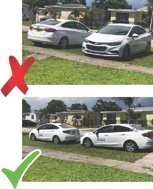 Homeowners Guide - Proper Parking